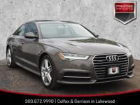 Dakota Gray Metallic 2016 Audi A6 2.0T Premium Plus