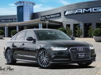 Boasting exemplary craftsmanship, this 2016 Audi A6