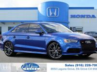2016 Audi S3 Sepang Blue Pearl Effect 2.0L 4-Cylinder