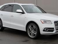 2016 SQ5 Quattro in White with Black interior in Nappa