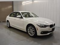 White RWD 2016 BMW 3 Series 320iFront Bucket Seats,