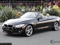 Nicely Optioned 2016 BMW 428 Sport Line Convertible