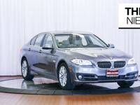 The 2016 BMW 5 Series has several powerful engines to