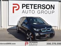 Our 2016 BMW i3 with Range Extender is on display in