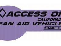 Looking for the New Red/Purple HOV Carpool Stickers?