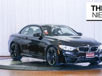 Here is a beautiful 2016 BMW M4 Convertible in Black
