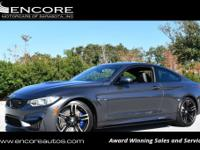 2016 BMW M4 2-DOOR COUPE***FLORIDA OWNED***CARFAX
