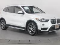 White Metallic 2016 BMW X1 xDrive28i AWD Odometer is