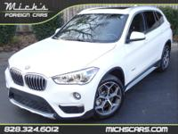OVERVIEWThis 2016 BMW X1 4dr HEATED SEATS - PANO ROOF -