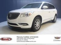 This 2016 Buick Enclave Leather comes complete with