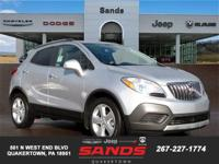 2016 Buick Encore Base 28/34 City/Highway MPG CLEAN