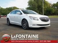 Summit White 2016 Buick LaCrosse Sport Touring FWD