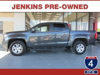 Low Miles! This 2016 Chevrolet Colorado 2WD LT will