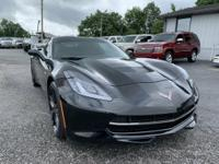 THIS IS A 2016 CHEVROLET CORVETTE STINGRAY COUPE....IT