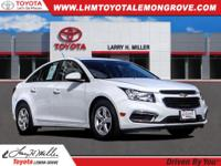 Summit White 2016 Chevrolet Cruze Limited 1LT FWD