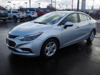 Silver Ice Metallic 2016 Chevrolet Cruze LT FWD 6-Speed