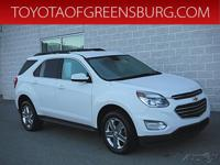 Summit White 2016 Chevrolet Equinox LT AWD 6-Speed