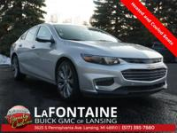 Silver Ice Metallic 2016 Chevrolet Malibu 4D Sedan