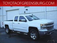 Summit White 2016 Chevrolet Silverado 1500 LTZ 1LZ 4WD