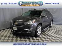 Tungsten Metallic 2016 Chevrolet Traverse LT 1LT 1LT