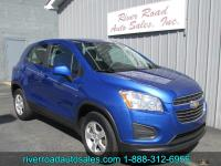 2016 CHEVROLET TRAX LS AWD!!! THIS ONE OWNER, LOW MILE
