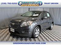 Cyber Gray Metallic 2016 Chevrolet Trax LS FWD 6-Speed
