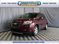 crimson metallic 2016 Chevrolet Trax LT FWD 6-Speed