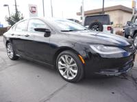 Introducing the 2016 Chrysler 200! Very clean and very