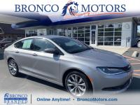 Gray 2016 Chrysler 200 S FWD 9-Speed 948TE Automatic