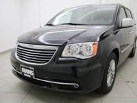 2016 Chrysler Town Country Touring-L Brilliant Black