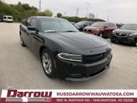 2016 Dodge Charger SXT Pitch Black Clearcoat RWD 3.6L