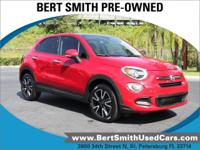 Priced below KBB Fair Purchase Price! Red 2016 Fiat