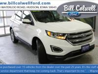 Oxford White 2016 Ford Edge SEL AWD 6-Speed Automatic