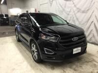 Zero Accidents, One OwnerShadow Black 2016 Ford Edge