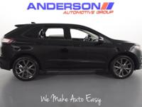 Shadow Black 2016 Ford Edge Sport AWD 6-Speed Automatic