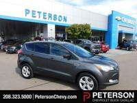 Brought to you in Magnetic, our 2016 Ford Escape SE 4WD