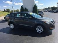 CARFAX One-Owner. Clean CARFAX. 2016 Ford Escape S FWD