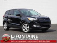 New Price! Shadow Black 2016 Ford Escape SE FWD 6-Speed