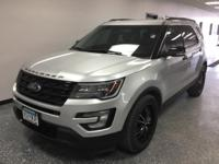 Silver 2016 Ford Explorer Sport AWD 6-Speed Automatic