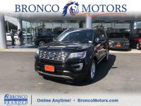 Black 2016 Ford Explorer XLT AWD 6-Speed Automatic with