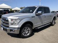 2016 Ford F-150 Lariat Silver4WD.4WD EcoBoost 3.5L V6