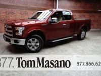 2016 Ford F-150 Lariat 5.0L V8 FFV 6-Speed Automatic
