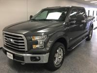 Gray 2016 Ford F-150 XLT 4WD 6-Speed Automatic