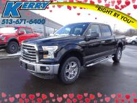 CARFAX One-Owner. Clean CARFAX. Black 2016 Ford F-150