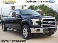 This 2016 Ford F-150 XLT in Shadow Black features:**ONE