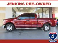 Low Miles! This 2016 Ford F-150 XLT will sell fast