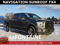 2016 Ford F-150 XLT, Magnetic Metallic, 4WD, 4D