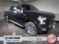 Recent Arrival! ONE OWNER Clean F-150 Sport with all