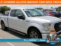 Silver 2016 Ford F-150 XLT RWD 6-Speed Automatic