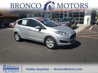 Silver 2016 Ford Fiesta SE FWD 6-Speed Automatic 1.6L